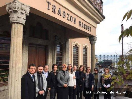 Trabzon Barosu'nda ilklerin buluşması