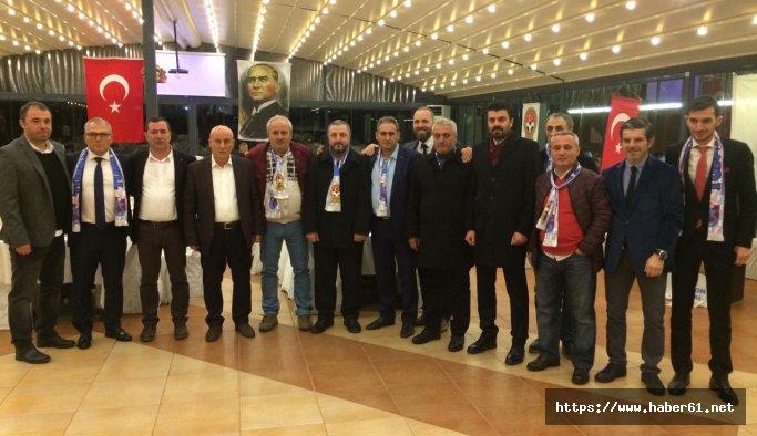Trabzon'da spor camiası TÜFAD gecesinde buluştu