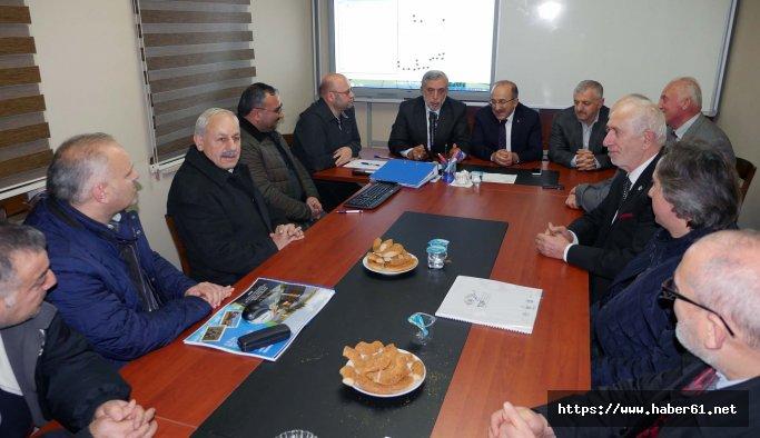 Başkan Gümrükçüoğlu ANADER toplantısına katıldı