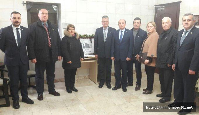 CHP Ortahisar'dan Talanov'a taziye ziyareti