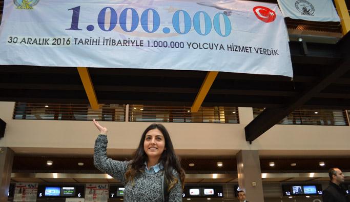 OR-Gİ'de 1 Milyonuncu yolcu heyecanı