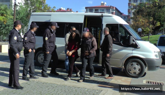 Giresun'da terör operasyonunda yakalanan PKK'lılardan biri HDP'li eski milletvekili adayı çıktı