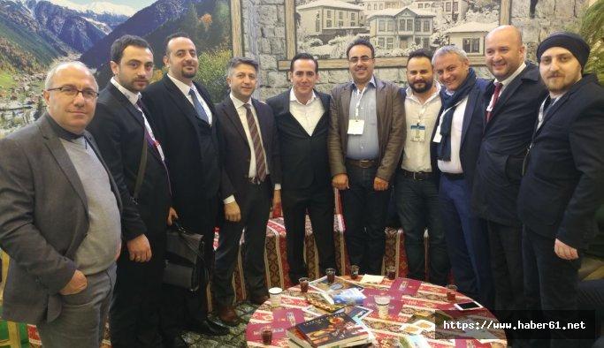 Trabzon EMITT Fuarında tanıtıldı