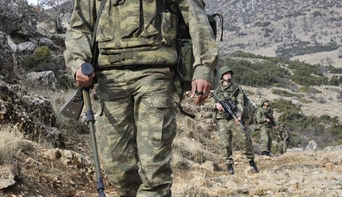 Amanos Dağları'nda çatışma: 1 asker şehit