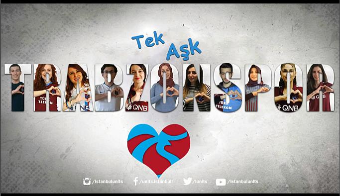 Trabzonspor'a Üni-TS'den 14 Şubat klibi