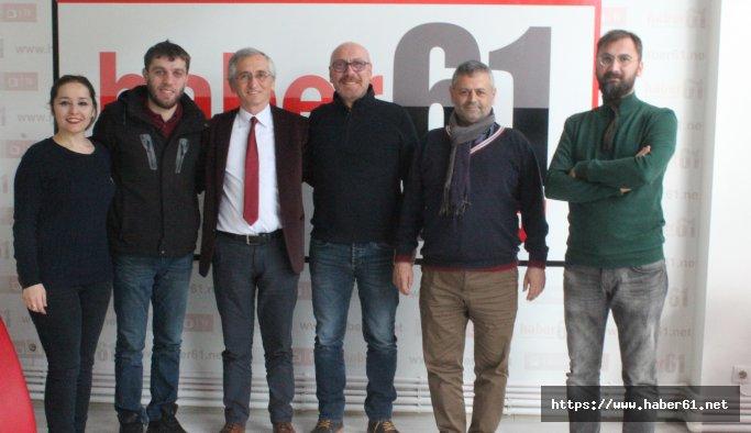 CHP Trabzon İl Başkanı Turgay Güngör Haber61'i ziyaret etti referandum tahmini yaptı