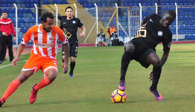 Osmanlıspor deplasmanda gol yağdırdı!