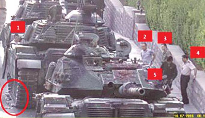 15 Temmuz delillerini tanka yok etmişler!