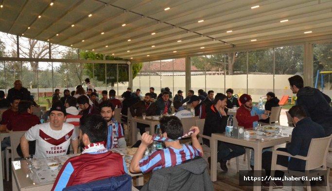 Akigo'lardan Trabzonspor taraftarına jest
