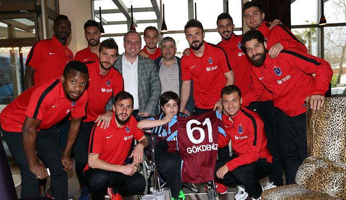 Küçük Trabzonsporlu'nun hayali gerçek oldu!