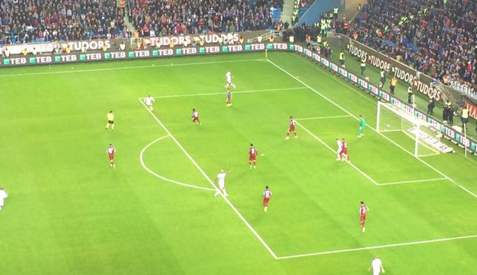 Trabzonspor'da Beşiktaş'a cevabı Okay verdi