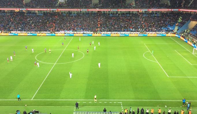 Trabzonspor'da son dakikada frikik kaçtı
