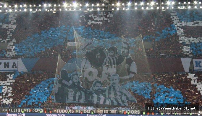 Trabzonspor'dan süper koreografi