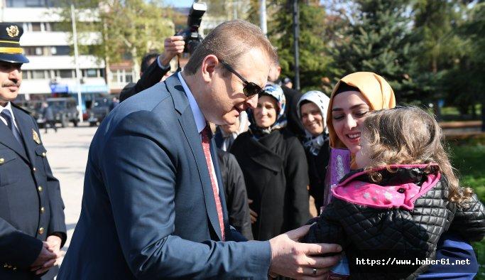 Polis günü Trabzon'da kutlandı