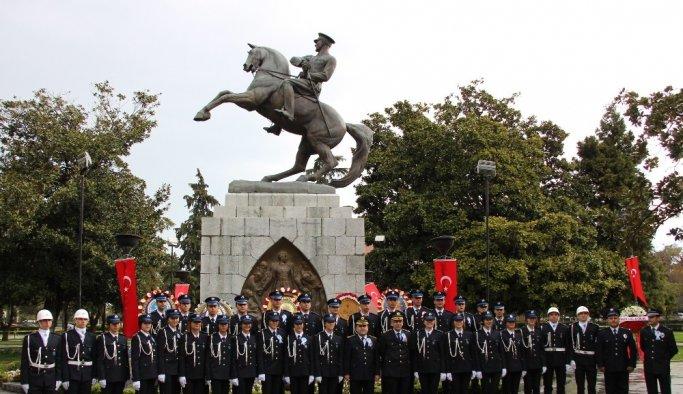 Samsun'da Polis Teşkilatının yıldönümü kutlandı