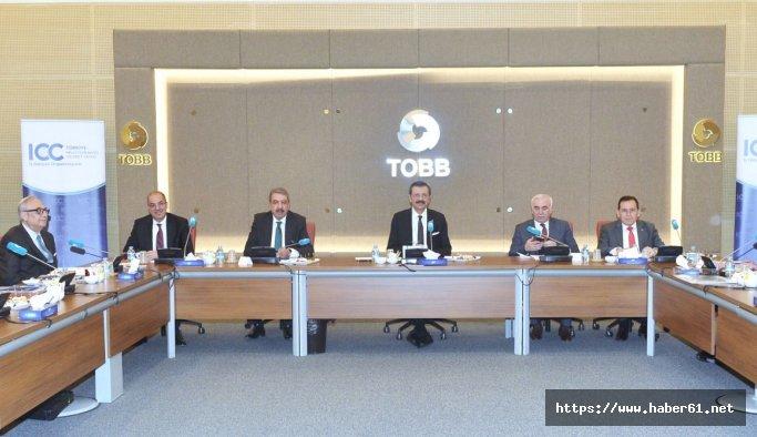Hacısalihoğlu Türkiye Milli Komitesi Yönetim Kurulu toplantısında