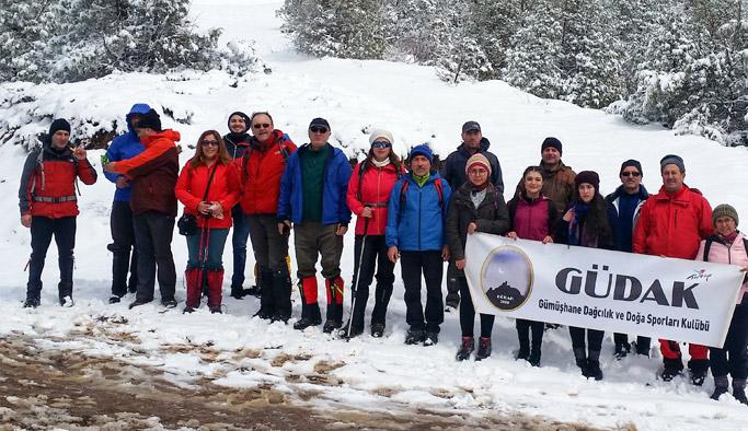 Trabzonlu ve Gümüşhaneli dağcılar beraber yürüdü