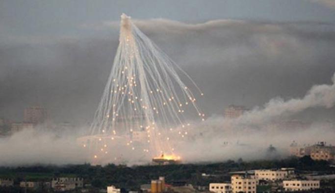 Halep'e kimyasal bomba attılar!