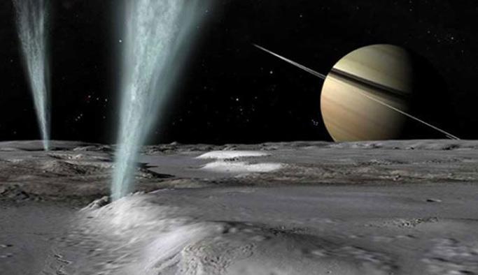 Jüpiter ve Satürn'de yaşam belirtisi bulundu!