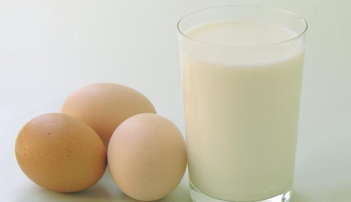 Yumurta ve süt üretimi azaldı