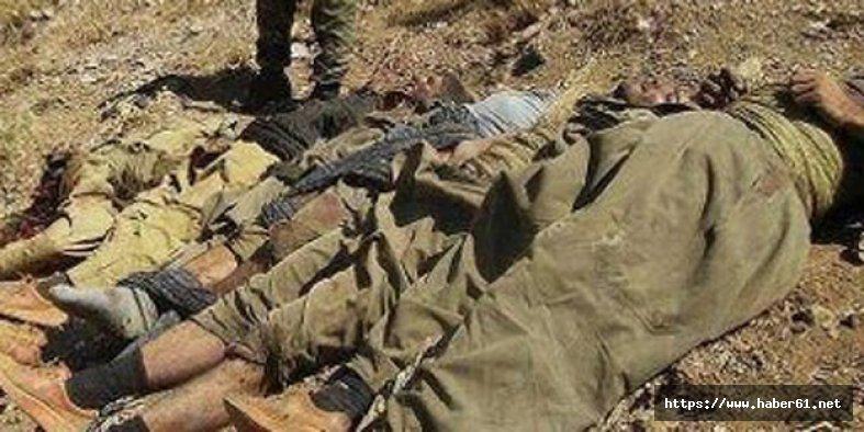 PKK'lılar askeri üsse girmeye çalıştı! 3 terörist öldürüldü