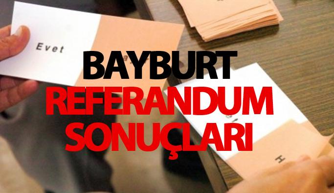 Bayburt referandum sonucu
