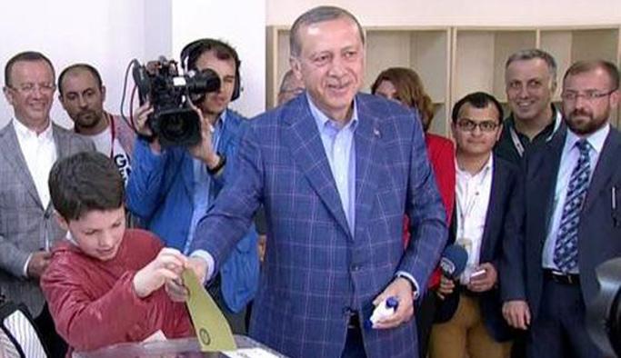Cumhurbaşkanı Erdoğan'ın sandığından 'Evet' çıktı!