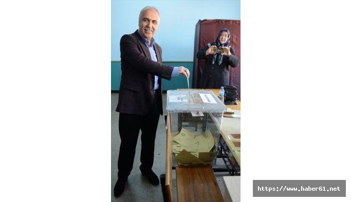 Giresun'da oy verme işlemi sürüyor