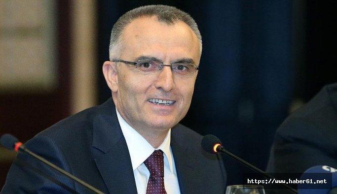 Maliye Bakanı Ağbal  Bayburt'ta konuştu