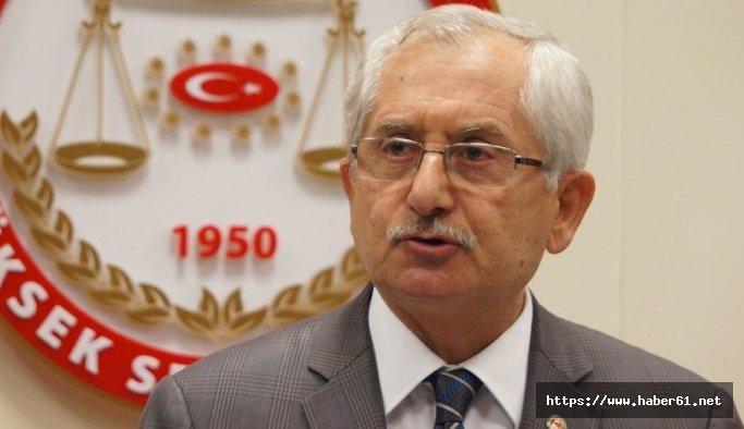 YSK Başkanı Sadi Güven'den mühür açıklaması