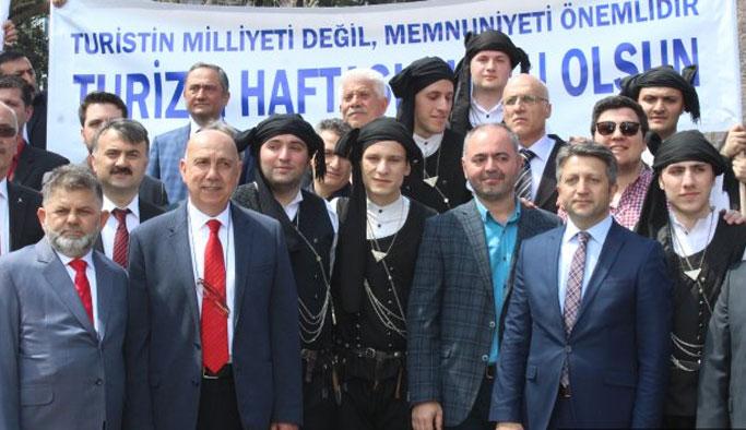 Trabzon'da turizm haftası kutlamalarla açıldı