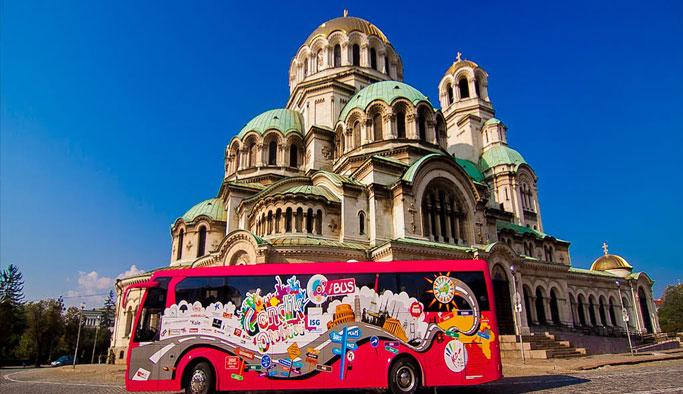 Gençlik otobüsü Avrupa yolunda
