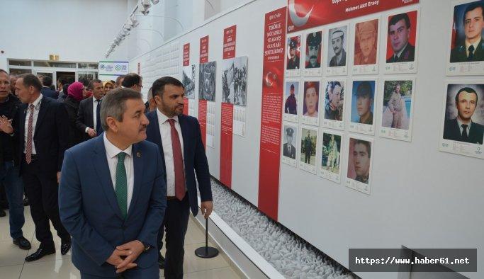 """Ordulu Şehitler Fotoğraf ve Envanter Sergisi"""" açıldı"""