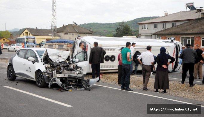 Katliam gibi kaza: 8 yaralı