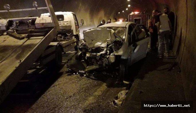Murgul Tüneli'nde korkunç kaza: 3 ölü 3 yaralı
