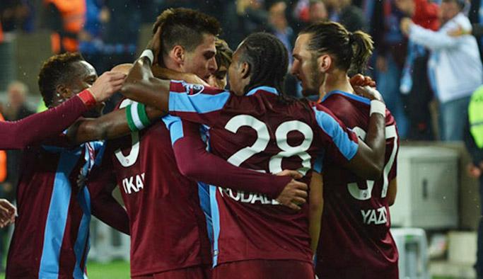 Trabzonspor Avrupa'ya kilitlendi