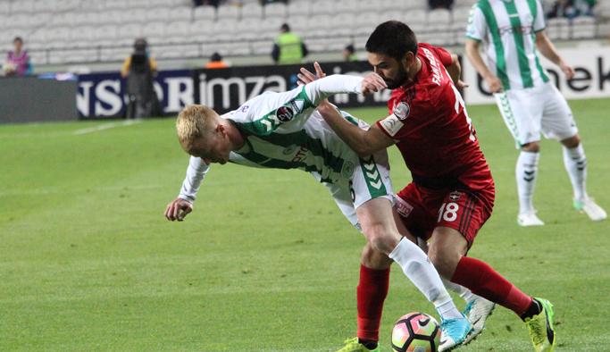 Gaziantepspor Konyaspor'u mağlup etti
