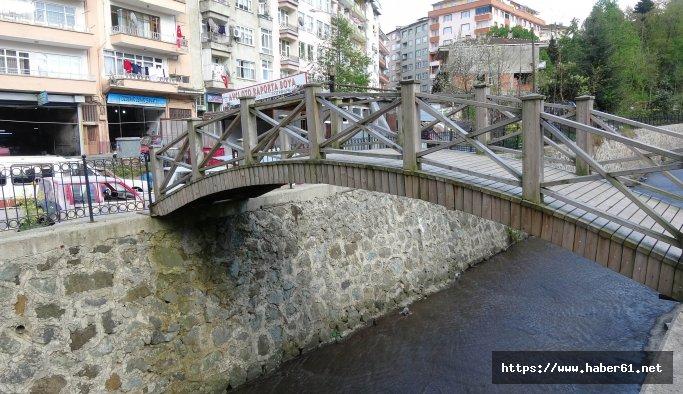 Bu köprü Rize'de: Gerisini siz tahmin edin