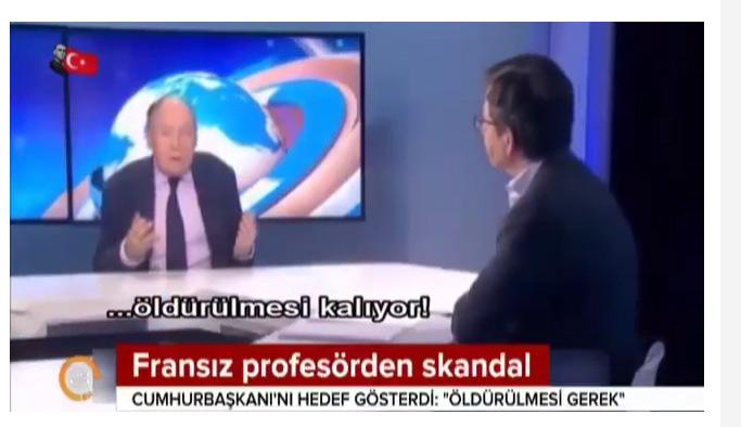 Erdoğan öldürülmeli diyen küstah profesör özür diledi!