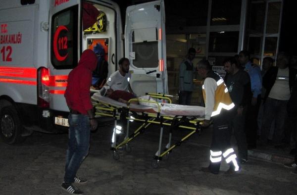 El Bab'da yaralanan 4 çocuk Kilis'e getirildi