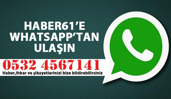 haber61 whatsapp ihbar hattı