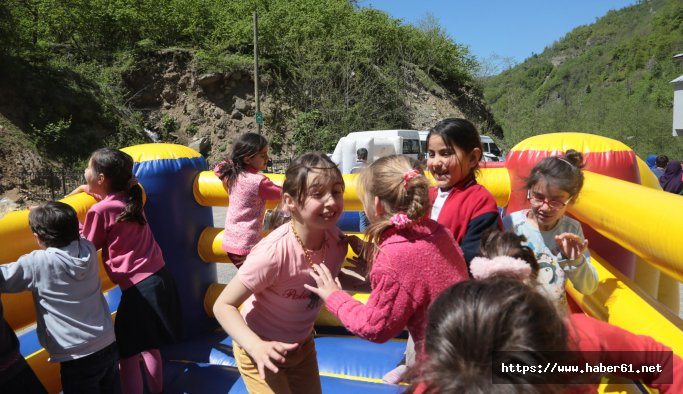 Çocuklar 'Spor Parkı'nı sevdi