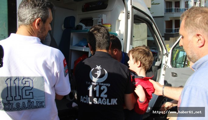 Oyun oynarken aracın çarptığı çocuk yaralandı