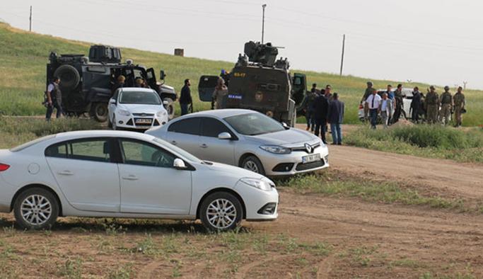 Sınırında YPG'lilerle çatışma