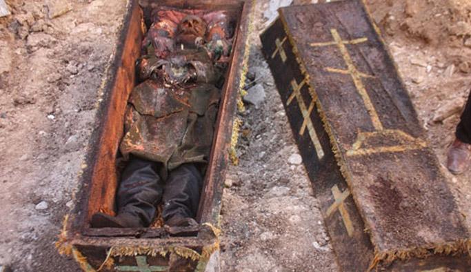 Temel kazısında bulunan Rus generalin torunu ortaya çıktı