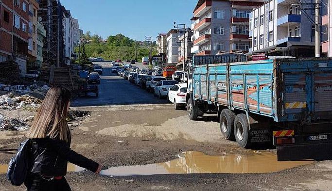 Trabzon'da bir mahallenin isyanı