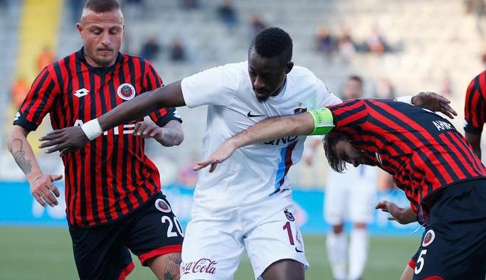 Trabzonspor Gençlerbirliği'nden çok üstün