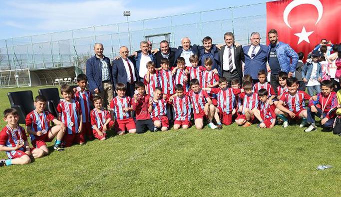 Trabzonspor Habip Şen Futbol Günleri sona erdi