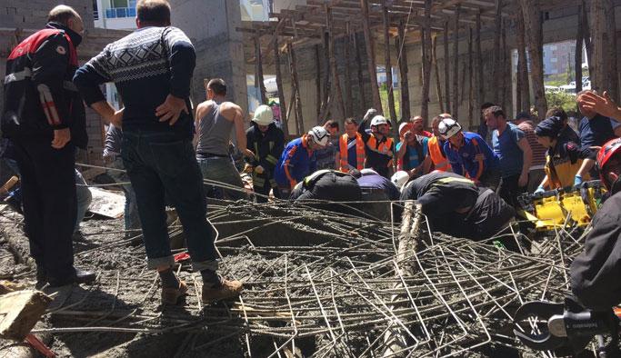 Cami inşaatında göçük: 3 işçi öldü