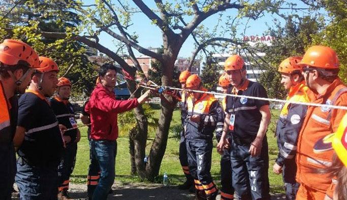 KTÜ'de arama ve kurtarma ekibi kuruldu